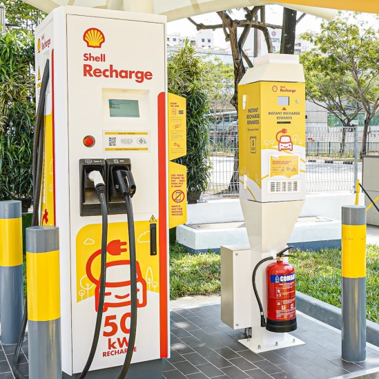 Commercial Charging Station from Shell