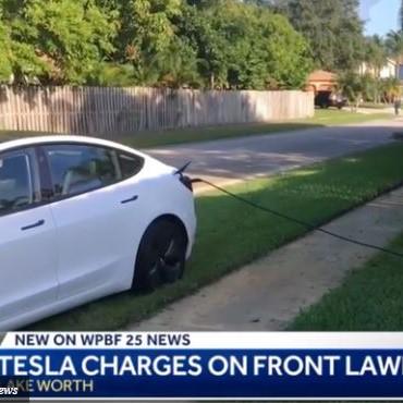 tesla, steals, electricity, EV, chargebase, eo- charging