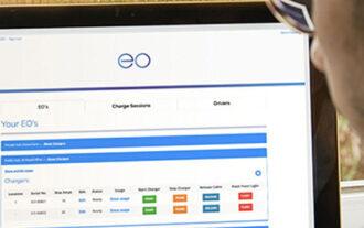 Online EV Charger Management App