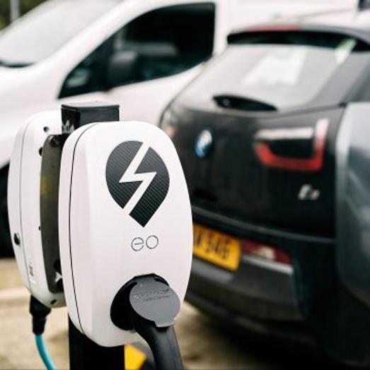 chargebase, eo charging, fleet chargers, ev,