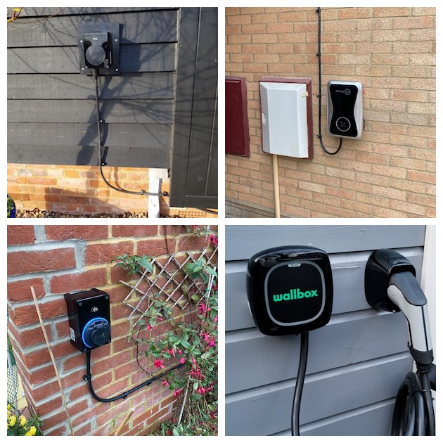 ev home chargers different types chargebase